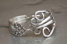 FORK FLOWER. love silverware jewels