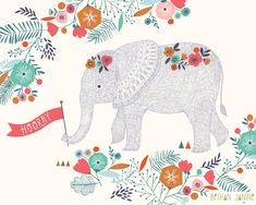 Hooray! Elephant by Bethan Janine