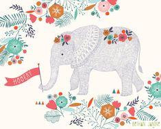 Hooray! Elephant by Bethan Janine