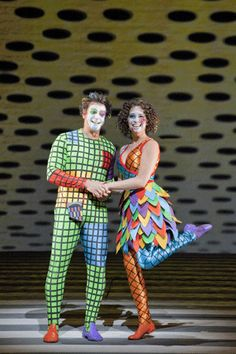 Nathan Gunn as Papageno and Nadine Sierra as Papagena, Photos by Cory Weaver courtesy of San Francisco Opera Lyric Opera, The Magic Flute, A Wrinkle In Time, Terani Couture, Cos Play, Opera Singers, Balloon Bouquet, Guys Be Like, Clowns