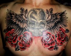 30 Best Wing Chest Tattoos For Men Images Tattoos For Men Wing