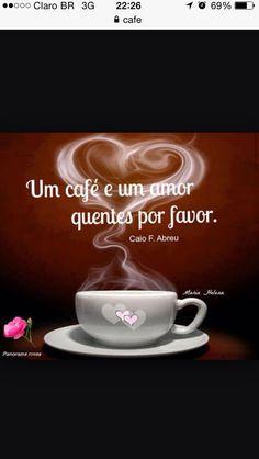 Portuguese says more coffee and love ❤️❤️❤️❤️ But First Coffee, I Love Coffee, Best Coffee, Portuguese Phrases, Coffee World, Coffee Cafe, Coca Cola, Tea, Tableware