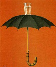 René Magritte, Les vacances de Hegel - 1958 on ArtStack #rene-magritte #art
