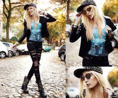 Black Milk NY Skyeline + Ripped Jeans = Amazing