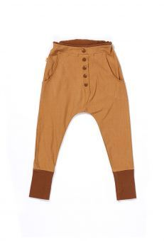 AlbaBabY Hose Chiko Button Pants brown