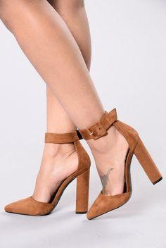 e1d82b8e1aa9 Fashionista Heel - Camel