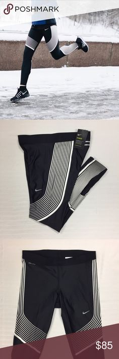 Women's Nike Power Speed Running Tights Women's Nike Power Speed Running Tights Leggings Style/Color: 719784-016  • Women's size Large  • NEW with tags • No trades •100% authentic Nike Pants Leggings