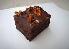 Raw Vegan Desserts, Raw Food Recipes, Healthy Recipes, Healthy Food, Vegan Vegetarian, Paleo, Raw Cake, Vegan Brownie, No Bake Brownies
