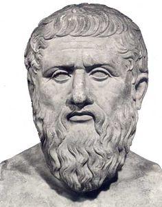 Platón, Filósofo griego (Atenas, 427 - 347 a. C.). Nacido en el seno de una familia aristocrática, abandonó su vocación política por la Filosofía, atraído por Sócrates. Siguió a éste durante veinte años y se enfrentó abiertamente a los sofistas (Protágoras, Gorgias.).