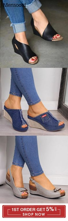 Mensootd is filled with the season's hottest trends, available in all sizes. You can buy the trendy fashion shoes, clothing and bags here. Enjoy your shopping journey now! Fashion 2020, Trendy Fashion, Shoe Deals, Denim Shoes, Hot Shoes, Shoe Closet, Platform Pumps, Me Too Shoes, Fashion Shoes