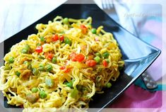 Maggi Noodle Recipe - Your Food Fantasy Maggi Masala, Maggi Recipes, Indian Food Recipes, Ethnic Recipes, Indian Foods, Food Fantasy, Noodle Recipes, Bon Appetit, Noodles