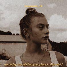 someday you will find your place in this world🍯 - Best Pins Live Photo Quotes, Picture Quotes, Grunge Quotes, Aesthetic Words, Aesthetic Captions, Tumblr Quotes, Film Quotes, Instagram Quotes, Mood Quotes