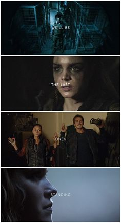 The Delinquents || The 100 || Bellamy Blake, Octavia Blake, Raven Reyes, Kyle Wick, Clarke Griffin || Bob Morley, Marie Avgeropoulos, Lindsey Morgan, Steve Talley, Eliza Jane Taylor