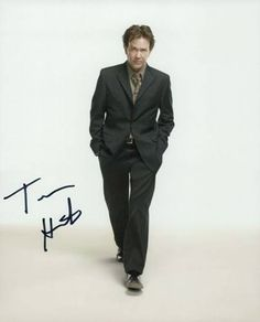"8x10 autograph by Timothy Hutton, star of ""The Dark Half"""