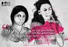 -Retratados ilustrados con sensibilidad,... - Darwin Ramírez / Artista Gráfico Illustration, Movie Posters, Sensitivity, Artists, Roses, Film Poster, Illustrations, Billboard, Film Posters