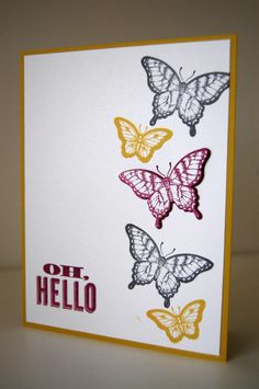 Oh, hello/ Papillon Potpourri Stampin' up