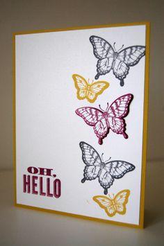 Oh, hello/ Papillon Potpourri Stampin' up