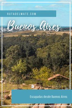 Aprovecha para salir de la gran ciudad y vivir un fin de semana en contacto con la naturaleza con las mejores ##escapadas desde Buenos Aires #turismo #argentina #viajar Buenos Aires, Adventure Travel, The Great Outdoors, Elopements, Going Out
