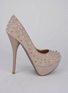 spiky stud platform pump. cute and cheap! lots of others on this site too!