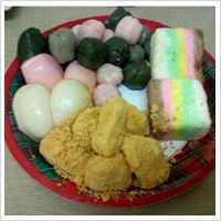 """Korean -  Most common everyday """"must have"""" sweet rice cake."""