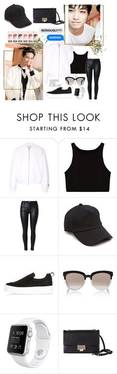 """Jaebum #108"" by itsrozzie ❤ liked on Polyvore featuring T By Alexander Wang, rag & bone, River Island, Christian Dior, Jimmy Choo, Topshop, kpop, GOT7, jaebum and eisforeyes"