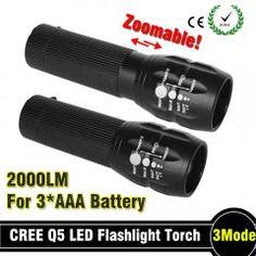 [ $28 OFF ] 92% Off Powerful Flashlight Lanterna Led Torch 2000 Lumen Zoomable Mini Led Flashlight Tatica Light Lantern Bike Light