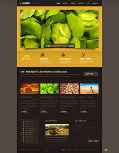 Black Orange Agriculture Wordpress Theme #wordpress #theme #website #template #design #webdesign