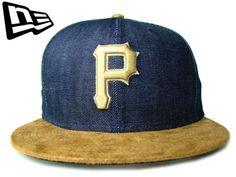 【ニューエラ】【NEW ERA】9FIFTY USカスタム 激レア! MLB PITTSBURGH PIRATES デニム&スエードXゴールド アジャスタブルキャップ 【CAP】【newera】【帽子】【ピッツバーグ・パイレーツ】【スナップバック】【snapback】【P】【ベージュ】【ネイビー】【金】【楽天市場】