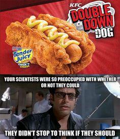 You've Gone Too Far, KFC