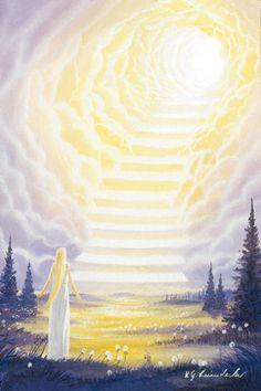 """Leinwanddruck - """"Himmelsstufen"""" Leinwanddrucke Lichtwelten Shop Christus- &…"""