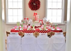 Holiday party dessert table. #holiday #dessert #table