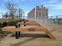 Nouveau parc linéaire dans le vieux Montréal