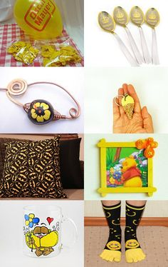 Yellow glow by Elaine on Etsy--Pinned with TreasuryPin.com