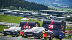Say hello to Aston Martin Red Bull Racing,  which arrived on 25 Sep 2017!  On the heels of collaborating on the completely bonkers and somehow street legal 1,130 horsepowerAston Martin Valkyrie, the increasingly resurgent British sports car company is deepening its ties with energy drink/space jumping/motorsports concern Red Bull in Formula One. Say hello to Aston Martin Red Bull Racing. Does that mean Aston Martin will be making the engines now? Unclear! #RedBullRacing #AstonMartin