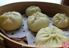 Recettes d'une Chinoise: BaoZi (petit pain fourré à la vapeur) 包子 bāo zi Plus