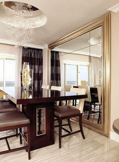5 Simple Interior Design Ideas For Your Home  Mirror Mirror Delectable Dining Room Mirrors Modern 2018
