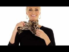 This is a great visual on many ways to wear scarves! Chico's How to Wear Scarves