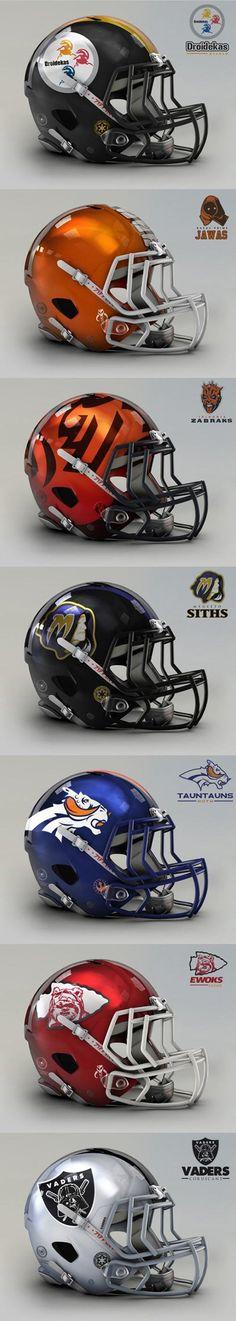 Funny pictures about NFL meets Star Wars. Oh, and cool pics about NFL meets Star Wars. Also, NFL meets Star Wars. Tatoo Steampunk, Star Wars Art, Star Trek, Fifa, Star Wars Helmet, Heavy Metal, Star Wars Humor, Love Stars, Sports Logo