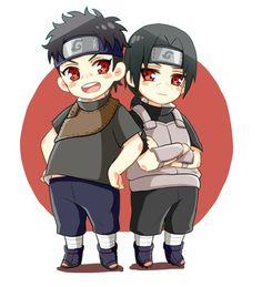 Itachi and Shisui chibi~hanyuu