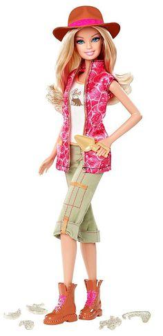 barbie-paleontologist