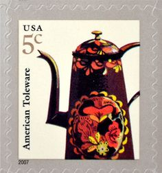 american toleware stamp | cent postage stamp american toleware stamps have not been used and ...