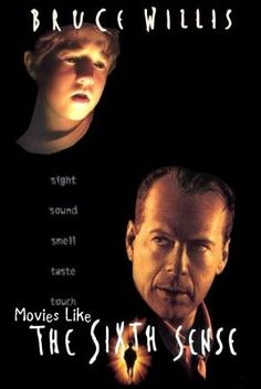 Mystery and thriller movies like The Sixth Sense