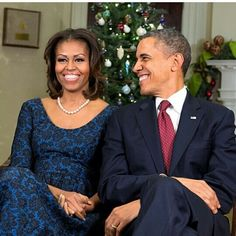 Merry Christmas from the Obama's