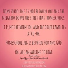 Back to Homeschool quote- FREE Mp3! Be encouraged!