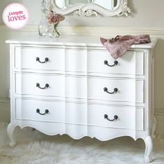 The French Bedroom Company Provencal Classic White Chest