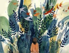 Maggie Chiang illustrates the Unknown