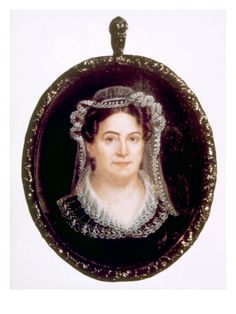 Rachel Jackson, Wife of Andrew Jackson, Miniature Portrait Attributed to Anna C. Peale