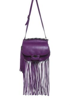 Get into the swing of spring with fringe. Easy, breezy and fun, tasseled bags get to the long and short of boho chic.