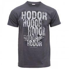 Hodor. Hodor Hodor Hodor. #GameofThrones.