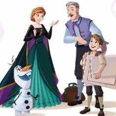 Frozen Art, Frozen And Tangled, Anna Frozen, Frozen Stuff, Disney Princess Fashion, Disney Princess Frozen, Disney Princesses, Disney Films, Disney Pixar